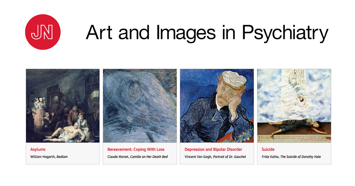 explore art and images in psychiatry from the jama network
